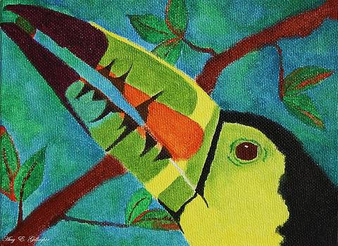 Keel-Billed Toucan by Amy Gallagher