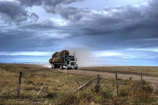 Keep Those Hay Bales Rolling by Scott Carlton