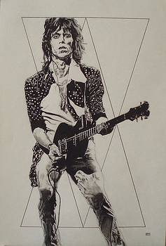Keith Richards - Happy by Sean Connolly