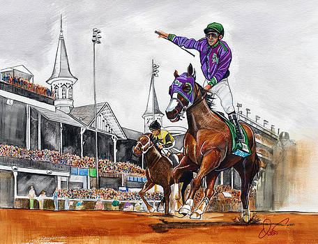 Kentucky Derby winner California Chrome by Dave Olsen