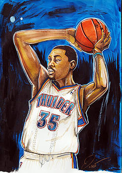 Kevin Durant by Dave Olsen