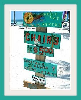 Key West Beach by Bruce Kessler