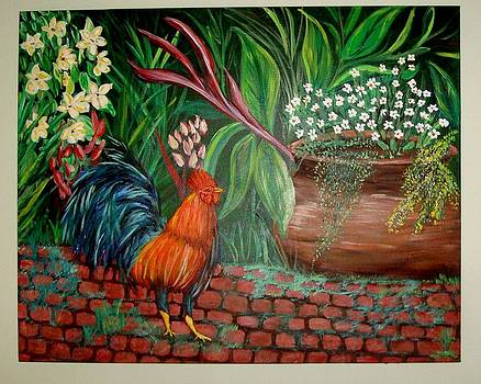 Key West Rooster by Patti Lauer