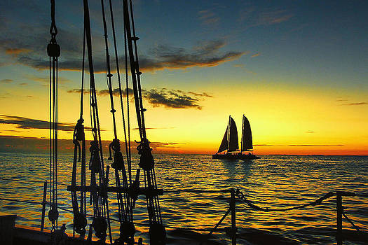 Key West Sunset by Gail Gates