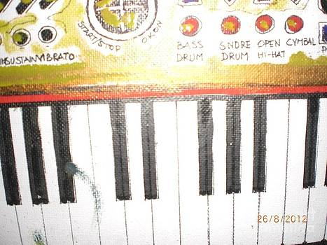 Keyboard by Luksa Obradovic