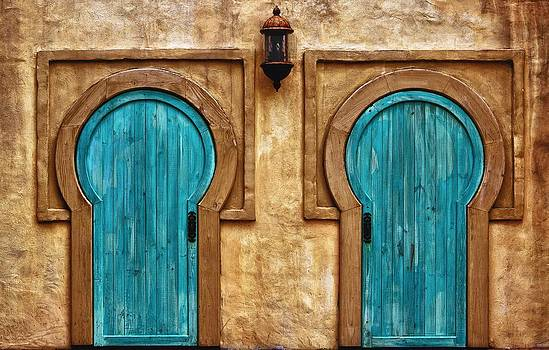 Keyhole Doors by Nancie Rowan