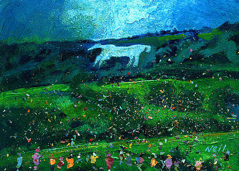 Neil McBride - Kilburn Feast under the White Horse