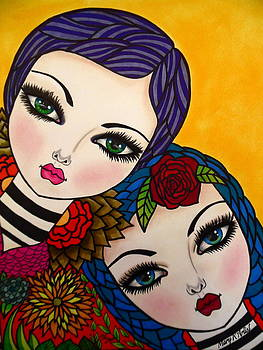 Kindred Spirits by Maria  Ruiz