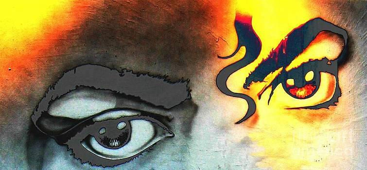 King Of Pop Eyes by Teresa Thomas