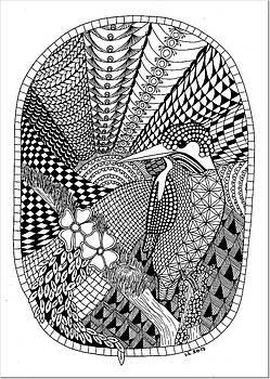 Kingfisher by Lissi Lyngsoe