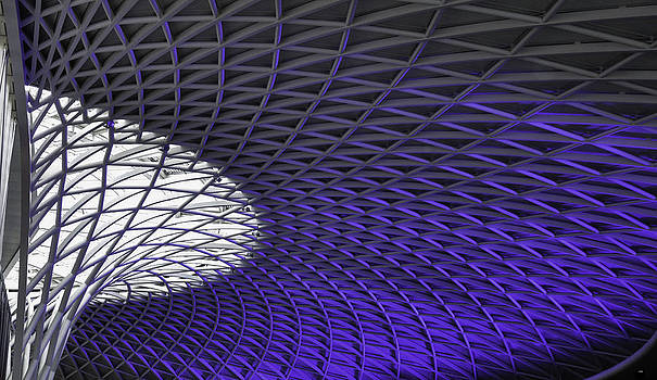 Kings Cross Station by Christine May