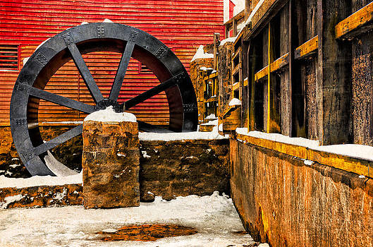 Kirby's Mill Wheel by Eleanor Ivins
