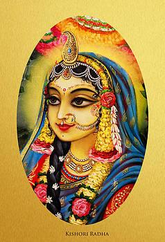 Vrindavan Das - Kishori Radha portrait