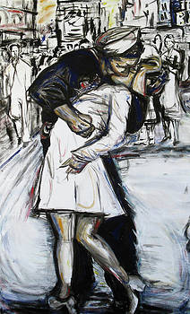 Kiss on Broadway by Hannah Curran