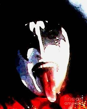 Gail Matthews - KISS The Demon Rock Star