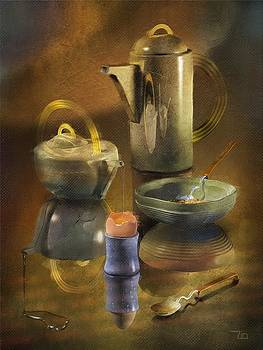 Kitchen Still Life by Zia Art