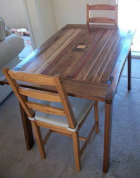 Kitchen table by D Angus MacIver