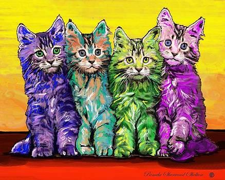 Kitten Sisters by Pamela Shelton