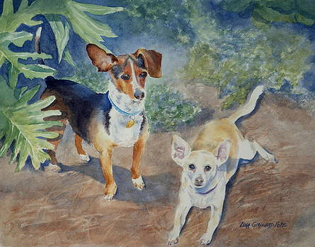 Kiwi and Jack -SOLD by Lisa Pope