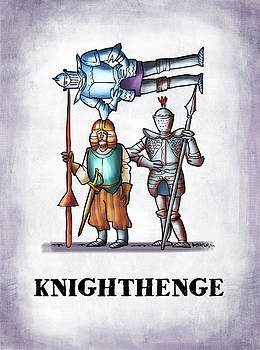 Knighthenge by Mark Armstrong