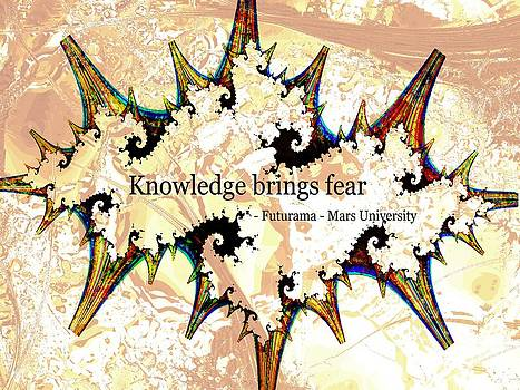 Anastasiya Malakhova - Knowledge Brings Fear