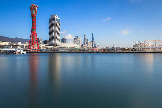 Kobe Port Island Tower by Hayato Matsumoto