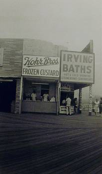Kohr Bros and Irving Baths Atlantic City NJ by Joann Renner