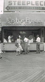 Kohr Bros Frozen Custard Atlantic City NJ by Joann Renner