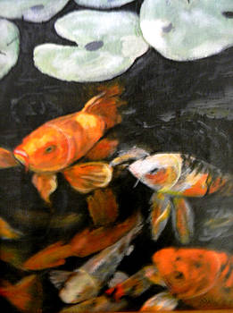 Koi Fish by Judie White
