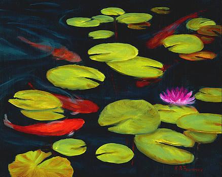 Koi Pond by Elaine Farmer