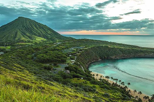 Koko Head Crater and Hanauma Bay 1 by Leigh Anne Meeks