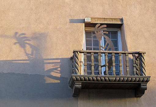 Elizabeth Rose - Kokopelli on a Santa Fe Balcony