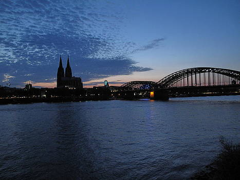 Koln Rhine by David  Hawkins