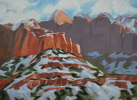 Kolob Snow by Nick Froyd
