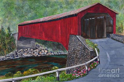 Kunkle's Mill Covered Bridge by John W Walker