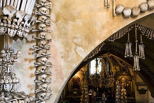 Kutna Hora Bone Church by Joanna Madloch