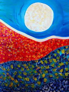 La luna by Esther Wilhelm Pridgen
