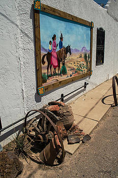 Allen Sheffield - La Mesilla Outdoor Mural
