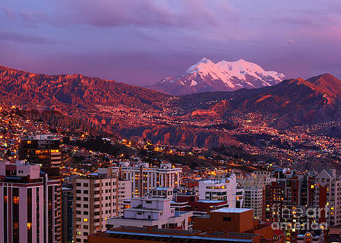 James Brunker - La Paz City Lights