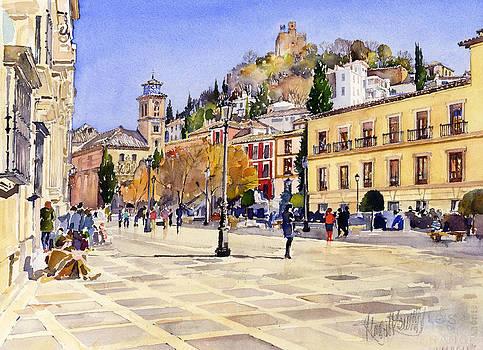 La Plaza Nueva Granada by Margaret Merry