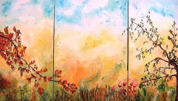 La Primavera 1 by Doris Cohen