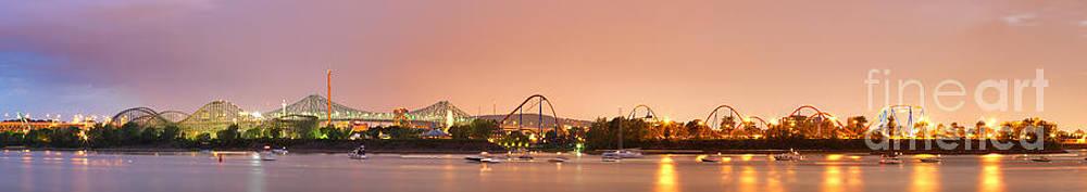 La Ronde Amusement Park Ste-Helene Island Montreal by Laurent Lucuix