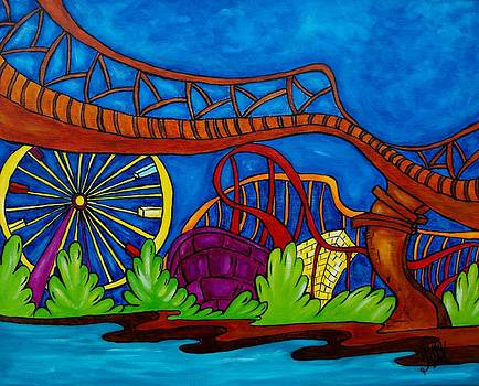 La Ronde Montreal by Chantal Lariviere
