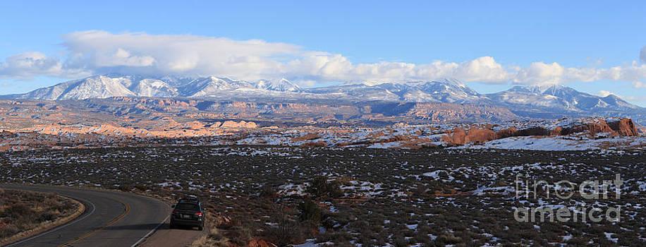 Adam Jewell - La Sal Mountains Panorama