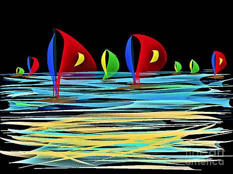 La Voile Rouge by Patty Meotti