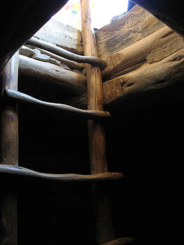 Ladder - Mesa Verde Cliff Dwelling by Paul Thomas
