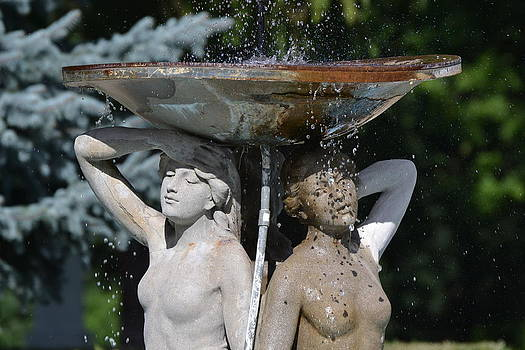 Ladies of the Fountain by Bill Mock