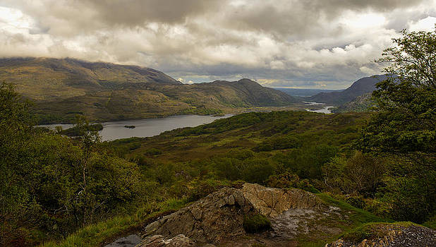 Ladies View Lakes of Killarney Ireland by Dick Wood