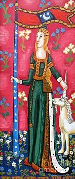 Genevieve Esson - Lady and The Unicorn la pointe