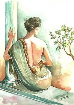 Lady Back Ii by Mohan Kumar